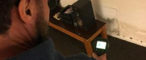 Lekdetectie in Leiden met een infrarood camera